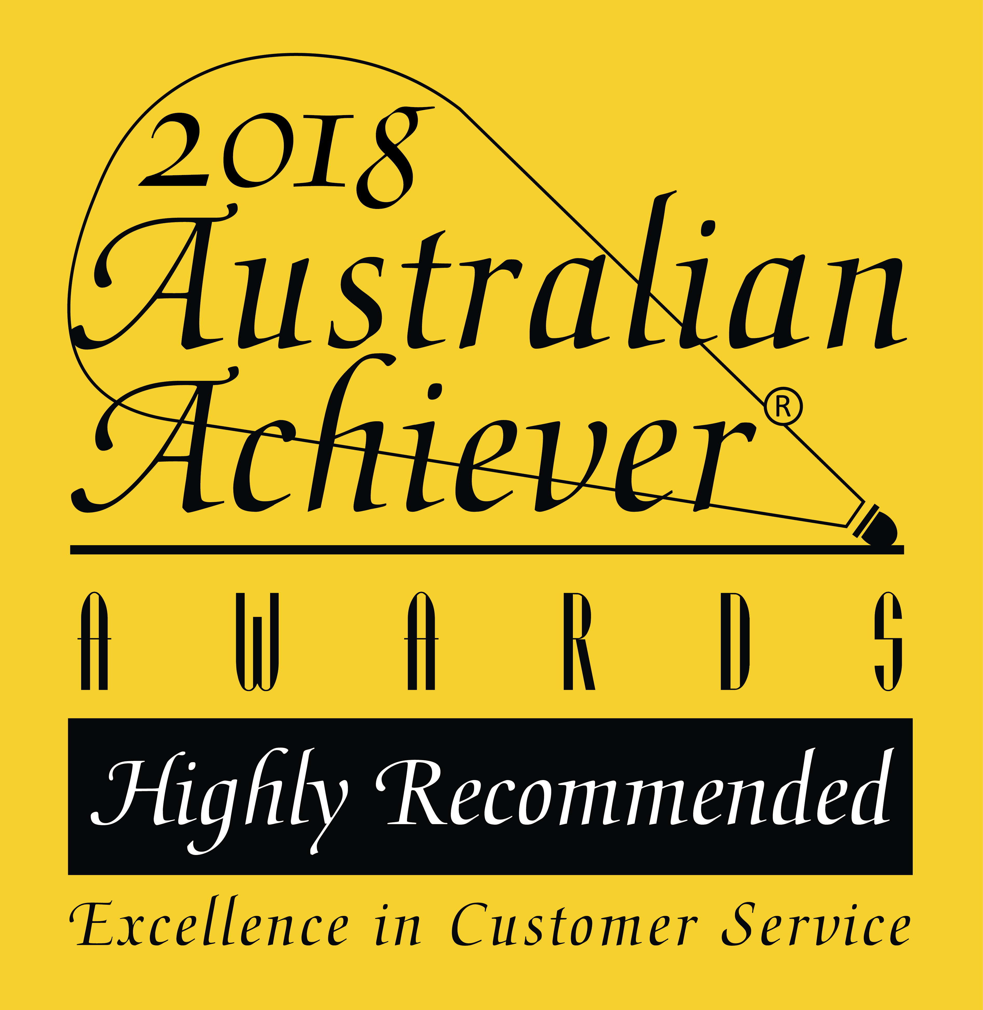 2018 Australian Achiever Awards - Highly Recommended