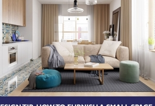 How to furnish a small space thumbnail