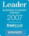 2007 - Winner Glen Eira / Port Phillip Leader Business Awards