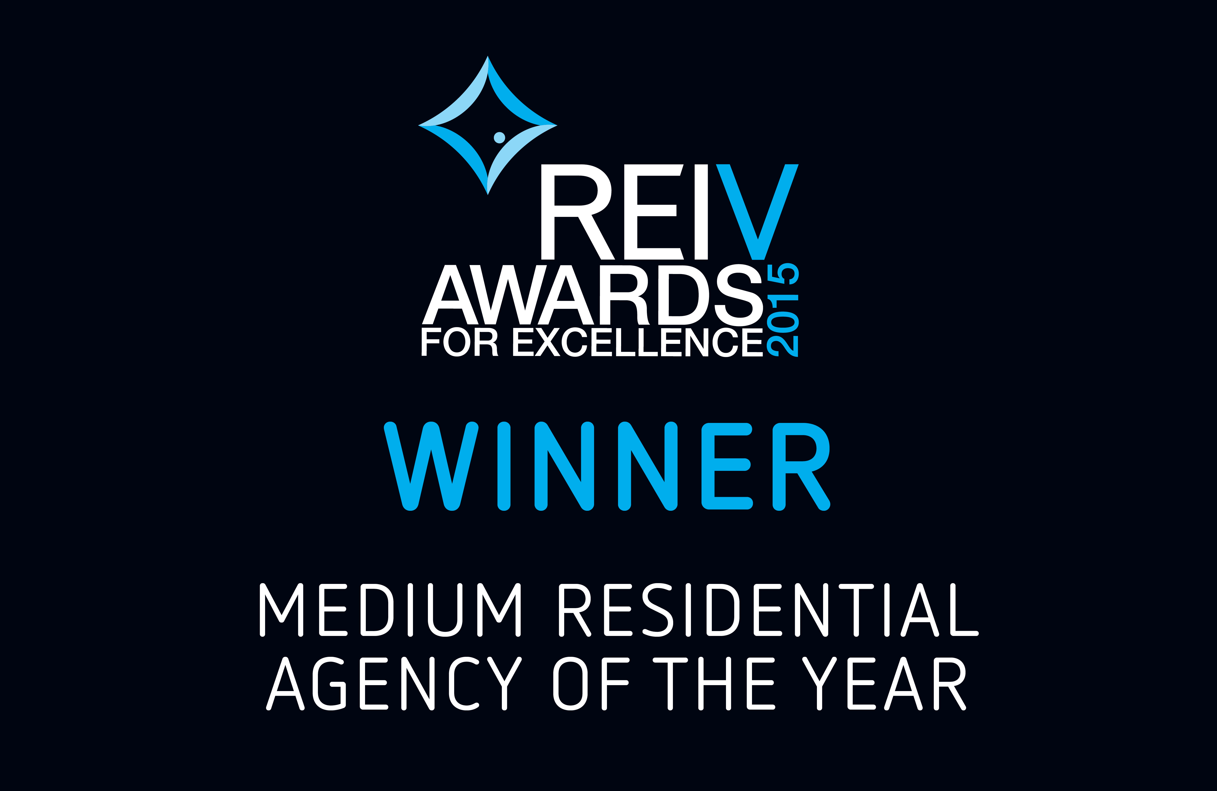 2010 - REIV Medium Residential Agency of the Year